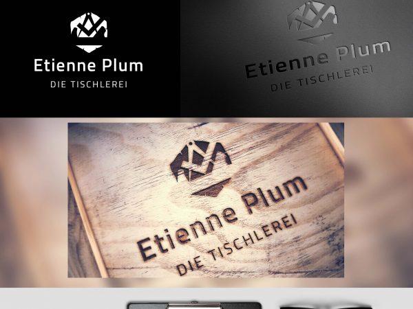 Logo Entwicklung - Die Tischlerei Etienne Plum